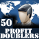A business Tycoon 50 Profit Doublers iOS Icon