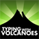 Typing with Volcanoes App Icon