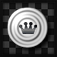 Checkers in Black and White app icon