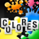 My first spanish words: Colors iOS Icon