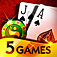 BLACKJACK (5 GAMES) app icon