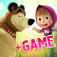 Masha and the Bear 1-16 plus Game app icon