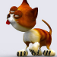 Action Cat 3D Free iOS Icon