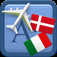 Traveller Dictionary and Phrasebook Danish iOS icon