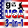 Go USA iOS Icon