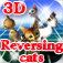 Reversing cats 3D iOS Icon