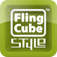 Fling Cube Style iOS Icon