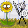 Doodle Plants vs Stick Army app icon