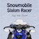 Snowmobile Slalom Racer app icon