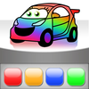 Cars Painting *KIDS LOVE* iOS Icon