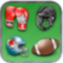 Sports Matching Game iOS Icon