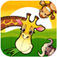 Toddler's Preschool Zoo Animals Puzzle app icon