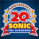 Sonic 20th Anniversary App Icon