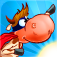 Supercow: funny farm arcade platformer iOS Icon