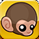 Baby Monkey (going backwards on a pig) App Icon
