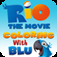 Rio The Movie Coloring with Blu iOS Icon