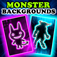 Monster Backgrounds iOS icon
