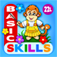 Abby Monkey Basic Skills: Preschool and Kindergarten Educational Learning Adventure Games for Toddler Explorers app icon