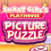 Smart Girl's Playhouse Picture Puzzle iOS Icon