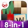 Friendle ~ Live Board Games with Friends and Family (Backgammon & Yatzy Dice plus 6 More FREE) iOS Icon