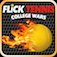 Flick Tennis: College Wars App Icon