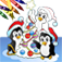 Christmas Coloring Book app icon