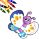 Kids Coloring Book iOS Icon