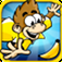 "Spider Monkey Free Game by ""Top Free Games"" iOS icon"