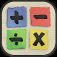 Math Master for kids app icon