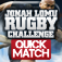Jonah Lomu Rugby Challenge: Quick Match App Icon