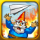 Paper Glider vs Gnomes App Icon