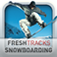 Fresh Tracks Snowboarding App Icon