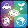 "HAPOC ""Human Animal Plant Object Country"" iOS Icon"