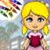 Paper Doll Coloring Book App Icon