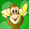 Adventures of Marvin and Mel Monkey: Word Rescue App Icon