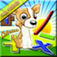 Math Puppy Full Version – Bingo Challenge Educational Game for Kids HD app icon