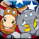 Donkeys and Elephants: Chow-Down App Icon