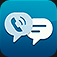 Text Me 2 Free Texting with Voice and Video Call iOS icon