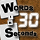 Words in 30 Seconds App Icon