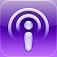 Podcasts iOS icon