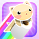 Rainbow Tissue Cat App Icon