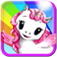 Unicorn Rainbow Ride Free iOS Icon