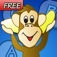 Adventures of Marvin and Mel Monkey: Word Rescue Free iOS Icon