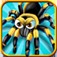 Spider Smasher Free Multiplayer Game by Top Cool Fun Apps app icon