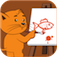 Drawing with Kitty app icon