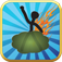 Farting stickman game free iOS icon