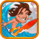 Surfing Tsunami iOS Icon