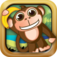 Monkey Madness: Lost in the Jungle iOS Icon