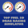 Top Fuel 3D Drag Racing Simulator app icon