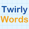 Twirly Word iOS Icon